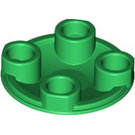 LEGO Green Round Plate 2 x 2 with Rounded Bottom (2654)