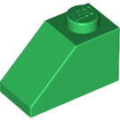 LEGO Green Slope 1 x 2 (45°) (3040)