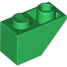 LEGO Green Slope 1 x 2 (45°) Inverted (3665)