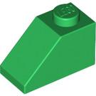 LEGO Green Slope 45° 1 x 2 (3040)