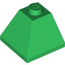 LEGO Green Slope 45° 2 x 2 (3045)