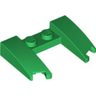 LEGO Green Wedge 3 x 4 x 0.6 with Cutout (11291 / 31584)