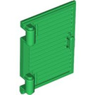 LEGO Green Window 1 x 2 x 3 Shutter with Hinges and Handle (60800)