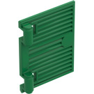 LEGO Green Window 1 x 2 x 3 Shutter with Hinges and no Handle (60800)