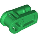 LEGO Green Wire Clip with Cross Hole (49283)