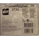 LEGO Grey Train Doors with Panes Set 3735 Packaging