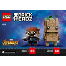 LEGO Groot & Rocket Set 41626 Instructions
