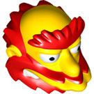 LEGO Groundskeeper Willie Minifig Head (20149)