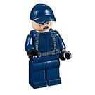 LEGO Guard without Raised Eyebrow Minifigure