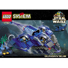 LEGO Gungan Sub Set 7161 Instructions