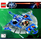 LEGO Gungan Sub Set 9499 Instructions