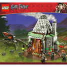 LEGO Hagrid's Hut Set 4738 Instructions