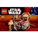 LEGO Hailfire Droid  Set 7670-1 Instructions