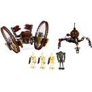 LEGO Hailfire Droid & Spider Droid Set 7670