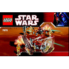 LEGO Hailfire Droid & Spider Droid Set 7670 Instructions