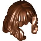 LEGO Hair Mid-Length et Wavy avec Bangs (37697)