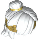 LEGO Hair with Gold Band