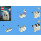 LEGO Halloween Ghost Set 40013 Instructions