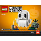 LEGO Halloween Ghost Set 40351 Instructions