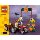 LEGO Halloween Hayride Set 40423 Instructions