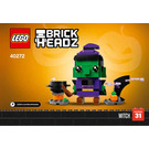 LEGO Halloween Witch Set 40272 Instructions