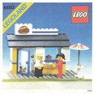 LEGO Hamburger Stand Set 6683