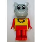 LEGO Hannah Hippo with Necklace Fabuland Figure