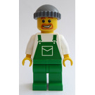 LEGO Harbour Worker with Overalls with Pocket Minifigure