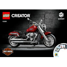LEGO Harley-Davidson Fat Boy Set 10269 Instructions