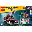 LEGO Harley Quinn Cannonball Attack Set 70921 Instructions
