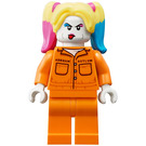 LEGO Harley Quinn with Prison Jumpsuit Minifigure