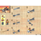 LEGO Harry Caine's Airplane Set 3022 Instructions