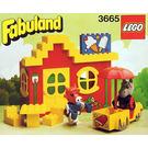 LEGO Harry Horse and Clara Cow's Ice Cream Shoppe Set 3665