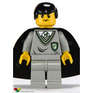 LEGO Harry Potter / Goyle with Slytherin Torso and Light Gray Legs Minifigure