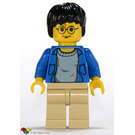 LEGO Harry Potter with Blue Open Sweater Minifigure