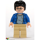 LEGO Harry Potter with Blue Shirt Minifigure