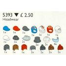 LEGO Headgear (Hats and Hair) Set 5393