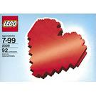 LEGO Heart Set 2009-1