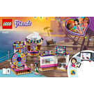 LEGO Heartlake City Amusement Pier Set 41375 Instructions
