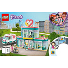 LEGO Heartlake City Hospital Set 41394 Instructions