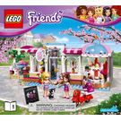 LEGO Heartlake Cupcake Cafe Set 41119 Instructions