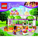 LEGO Heartlake Juice Bar Set 41035 Instructions