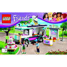 LEGO Heartlake News Van Set 41056 Instructions
