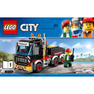 LEGO Heavy Cargo Transport Set 60183 Instructions