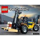 LEGO Heavy Duty Forklift Set 42079 Instructions