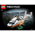 LEGO Heavy Lift Helicopter Set 42052 Instructions