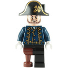 LEGO Hector Barbossa Minifigure with Pegleg