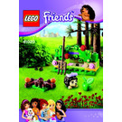 LEGO Hedgehog's Hideaway Set 41020 Instructions