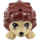 LEGO Hedgehog with Reddish Brown Spikes (12203 / 98944)