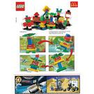LEGO Heli-Monster Set 2719 Instructions